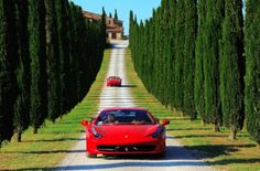 #Italy by #Ferrari - Now THAT'S the kind of tour I want to take! #bucketlist