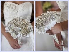 LOVE this bridal bouquet!
