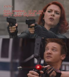 Texts From the Avengers<--Funnily enough, Hawkeye is actually about 60% deaf in the comics