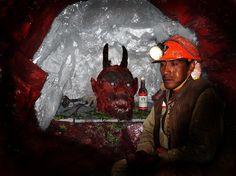 Capilla para el Tio - A chapel in a mine for a local god - Potosi, Bolivia