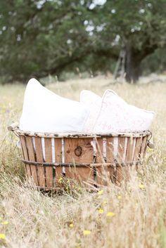 french laundry basket ♥