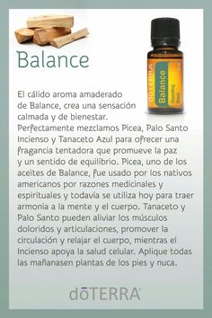 Balance aceites esenciales