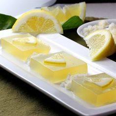 Lemon Limoncello Jello Shots