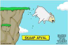 Idees Vol Vrees, some excellent Afrikaans cartoons (Via