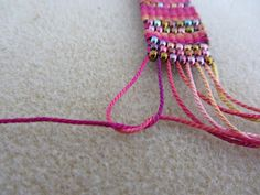 Loom work -Easy finishing!  ~ Seed Bead Tutorials