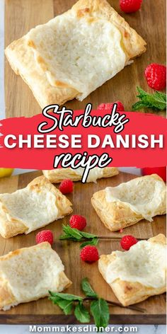 This Starbucks copycat cheese danish will quickly become your new favorite breakfast! It is super easy to make at home and is a fraction of the cost. Let me show you how to make this Starbucks cheese danish. It's one of my favorite coffeehouse copycat recipe. Starbucks Cheese Danish Recipe, Danish Food, Delicious Breakfast Recipes, Copycat Recipes, Super Easy, Coffeehouse, Coffee Shops, Coffee, Coffee Cafe