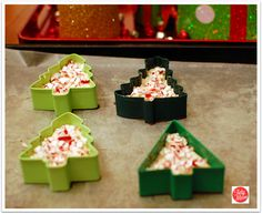 Make holiday bark with cookie cutters!