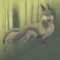 Wolf Design by ~tirin54