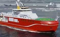 £200m ship possibly to be named Boaty McBoatface thanks to an online poll