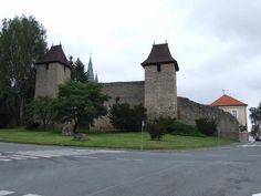 Česko, Tachov - Středověké hradby