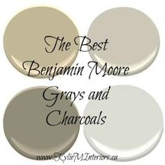 the best paint colours colors benjamin moore gray, grey and charcoal