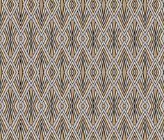Art Deco 9 fabric by laurels on Spoonflower - custom fabric