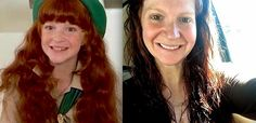 "Here is Emily Schulman (now Webster, Ruby Mae) in a then and now feature celebrating the 25th anniversary of the movie ""Troop Beverly Hills""."