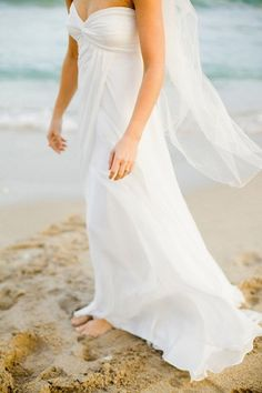 #BeachWedding #Gown