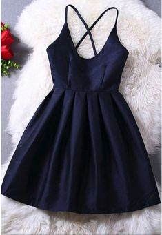 Back cross sling backless sleeveless dress sexy female waist skirt all-match…