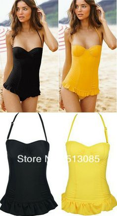 Aliexpress.com : Buy 2013 New Arrival Women Victoria VS Halter Slim One Piece Bikini Swimwear Swimsuit Beach Wear Suit Bra Metal Padded Push Up SML from Reliable Cheap 2013 New One Piece Underwire Bra Push Up Padded VS Victoria Plus Size Bikini Swimsuit Swimwear Bathing Beach Wear suppliers on Women's Fashion Clothing  Dress Shop $12.99