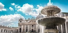 The vatican fountain for the throwback thursday. The whole square was amazing and huge and since it was easter it was packed with people coming for the papal mass among the tourist streams. I had a snack in front of this beautiful fountain, enjoyed the april warmth and took a few photos so here's one of them (with people cropped out). Had my travel gear with canon 6d @canonglobal and withmytamron 24-70 2.8 #italia #italy #vatican #easter #ollihuhtalaphotography #stpetersbasilica #saintpietro…