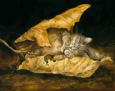 Feuille de chat By - Severine Pineaux