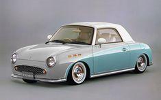 91' Nissan Figaro (lowered)