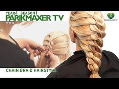 M Плетение косы с цепочкой. Анастасия Юхименко парикмахер тв parikmaxer.tv - YouTube