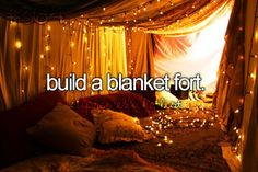 Yesss, then invite my best friends over and have a sleepover in it!