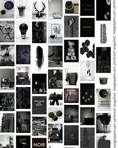 vosgesparis: The amazing color BLACK   October State of Mind