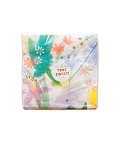 Painted Floral Party Napkins (Large) – Oh Happy Day Shop