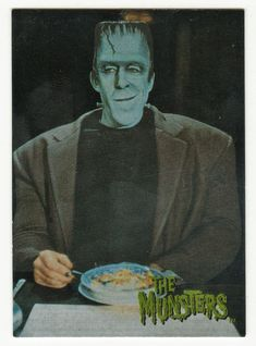 The Munsters - Deluxe # 2 Herman Munster - Dart 1995
