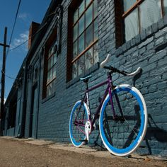 Custom Big Shot Fixie Bike - Design your own color combinations on a single speed bicycle for urban riding!