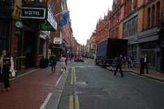 Exchequer Street, Dublin. One of my favorite places.