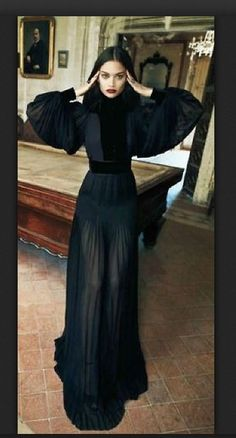 Gown by Gucci