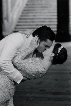"One of my all-time favourite moments on Gossip Girl. Chuck and Blair, one of my favorite TV couples, finally said their ""I do's."" <3"