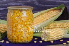 Консервированная кукуруза в домашних условиях - рецепт с фото