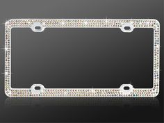 The first purchase for my first car would be these amazing, sparkly license plate frames!