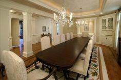I love huge dining rooms!
