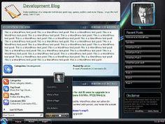 WordPress › Inanis Glass « Free WordPress Themes