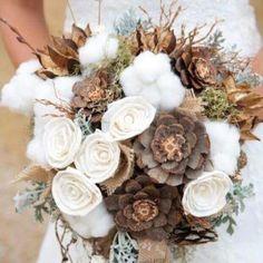 Camo floral boquet