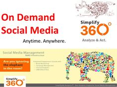 On Demand #Social Media by #Simplify360
