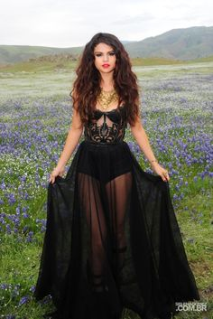 Black Dress Selena Gomez Come And Get It July 2017