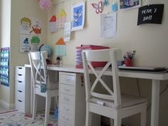 10 amazing homeschool rooms to inspire your learning......  This would be great for the girls....
