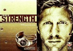 Boris Becker for TAG Heuer Watch Ad