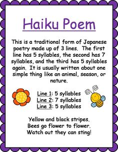 Types of Poems for Kids - Vibrant Teaching