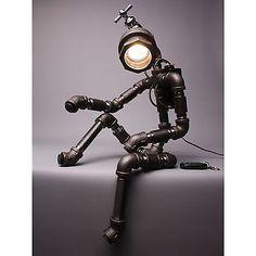 Desk Light Lamp Home Decor Lighting Table Lamp Handmade Faucet Robot Light ver.2