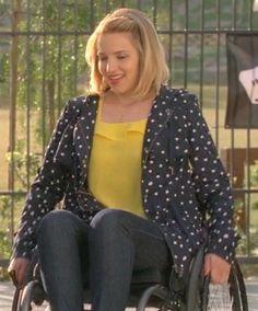Quinn Fabray. I love her jacket.