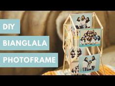 Home Decoration Online Stores Diy Photo Frame Cardboard, Photo Frame Crafts, Photo Craft, Creative Photo Frames, Unique Photo Frames, Photo Frame Ideas, Diy Crafts For Gifts, Diy Arts And Crafts, Cadre Photo Diy