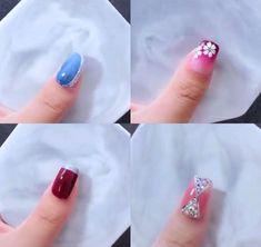 art summer gel Nails Art The Best Nail Art Designs Compilation Nail Art Designs Videos, Nail Art Videos, Best Nail Art Designs, Acrylic Nails, Gel Nails, Nail Polish, Nail Nail, Nail Swag, Nail Art Diy