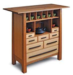 Tea Cabinet - Reader's Gallery - Fine Woodworking