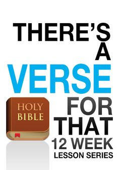 There's a Verse For That Children's Ministry Curriculum http://www.childrens-ministry-deals.com/products/theres-a-verse-for-that-12-week-childrens-ministry-curriculum