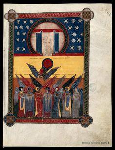 Beato de Liébana. Beato de Liébana , Santo — Manuscrito — 1047  426