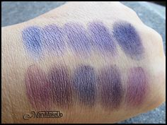 Douglas Like Palette Swatches